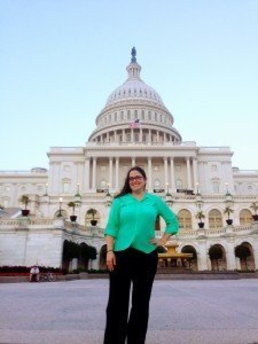 Cancer survivor and advocate Julie Westcott participated July 7-8 in One Voice Against Cancer's National Lobby Day in Washington, D.C.