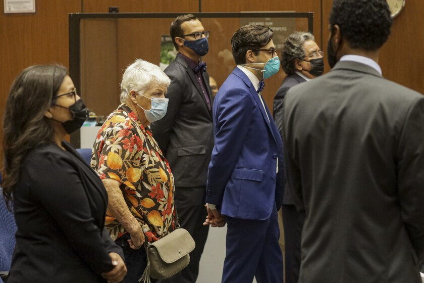 Four social workers charged in Gabriel Fernandez's case appear in court.