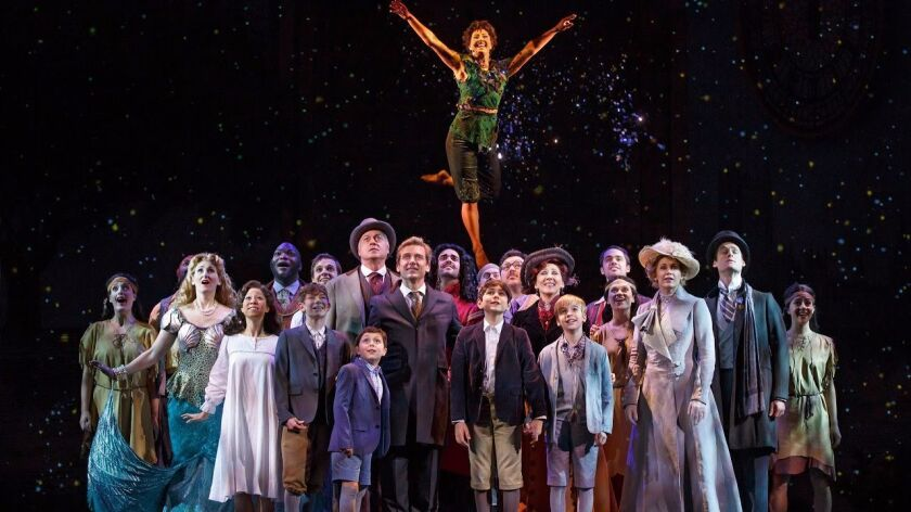 Neverland\' musical celebrates the rise of \'Peter Pan\' - The ...
