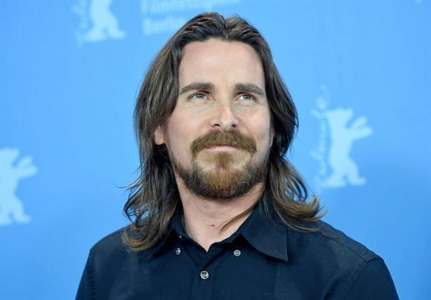 British actor Christian Bale poses during a photocall for 'Knight of Cups' at the 65th annual Berlin Film Festival, in Berlin, Germany. EFE/EPA/FILE