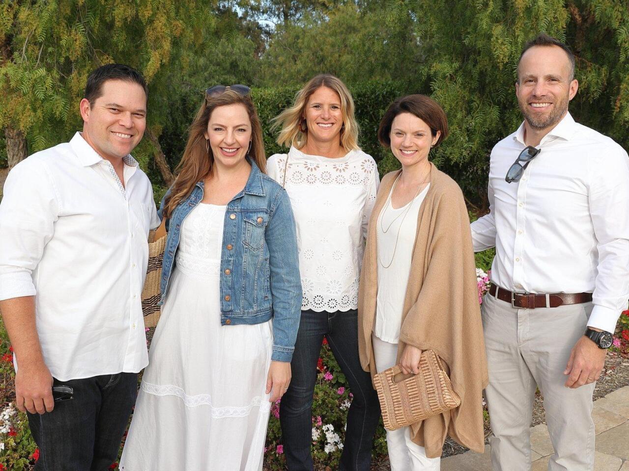 Marc and Kyri Van Hoose, Stacy Hoffman, Stacy and Joe Charat