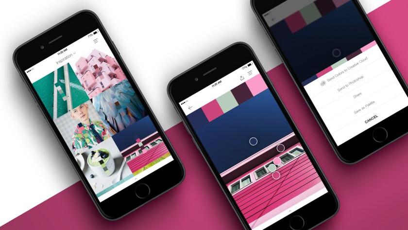 Pantone's new Studio app