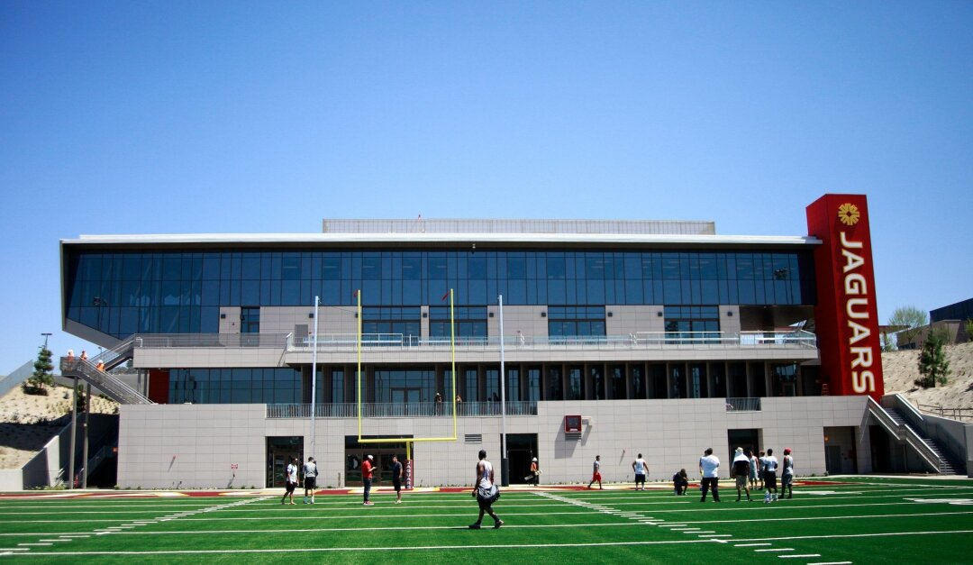 The new field house at Southwestern College