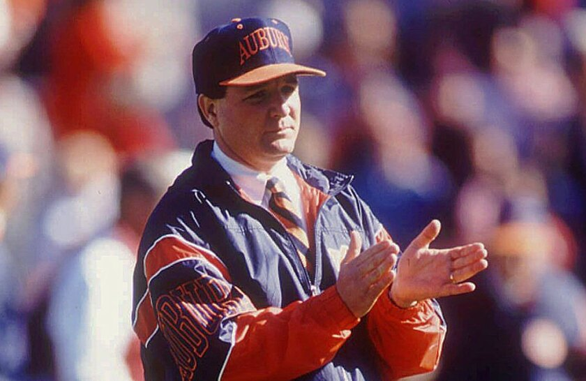 Auburn is claiming it won the national title under coach Terry Bowden in 1993, even though it was ineligible that season because of NCAA sanctions.
