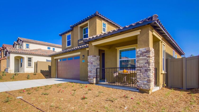Phase 2 of Monterey Place in Chula Vista opens in March. Homes range from 1,708 to 1,973 square feet. Costs range from $549,500 to $577,750, said MarketPointe Realty Advisors.