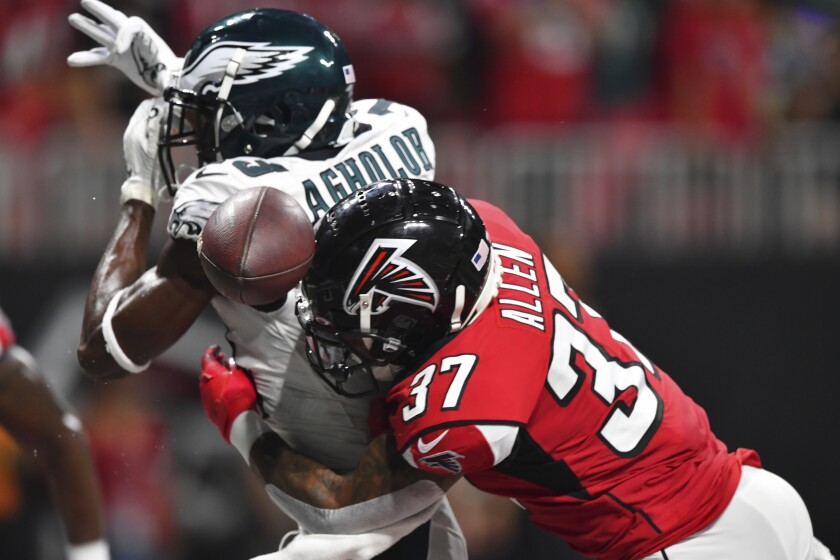 Philadelphia Eagles receiver Nelson Agholor has been taking his share of lumps recently.