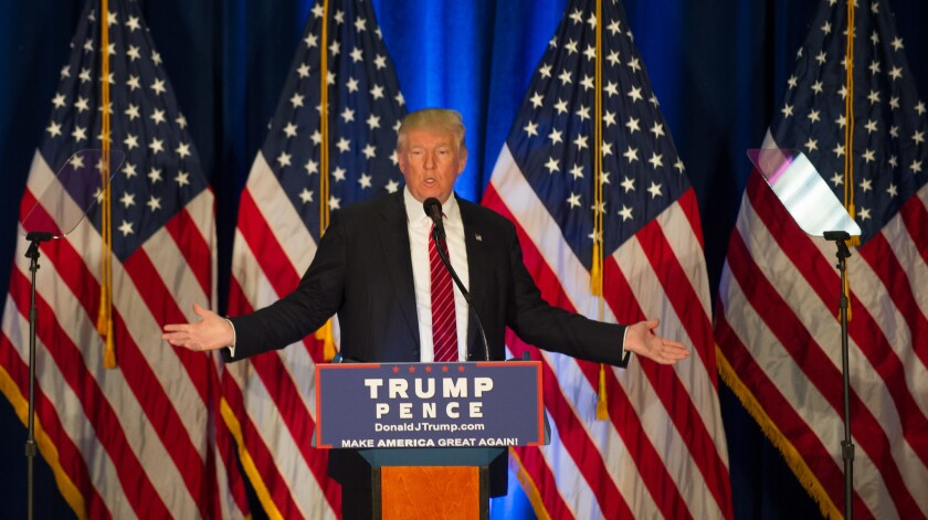 """Donald Trump called for """"extreme vetting"""" of immigrants in a speech in Youngstown, Ohio."""