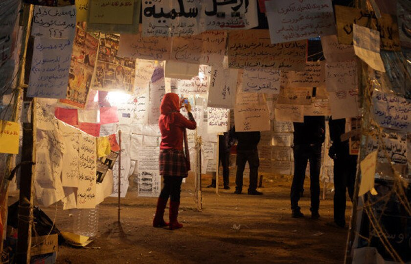 In Egypt's Tahrir Square