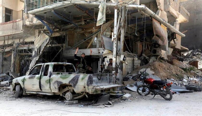 La coalición internacional liderada por EE.UU. que combate el yihadismo en Siria anunció hoy que está dialogando con Turquía y con las Fuerzas de Siria Democrática (FSD) con el objetivo de reducir las tensiones entre ambas partes. EFE/Archivo
