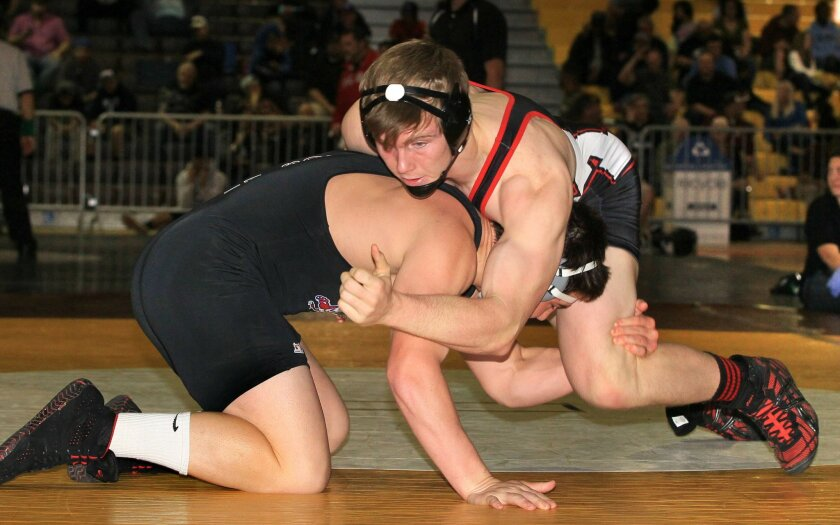 Murrieta Valley's Nicolas Johnson, who along with his brother Matt are the only state tournament-qualifying Nighthawks wrestlers in the last five years, joins nine other area athletes for the CIF State Wrestling Championships this weekend in Bakersfield.