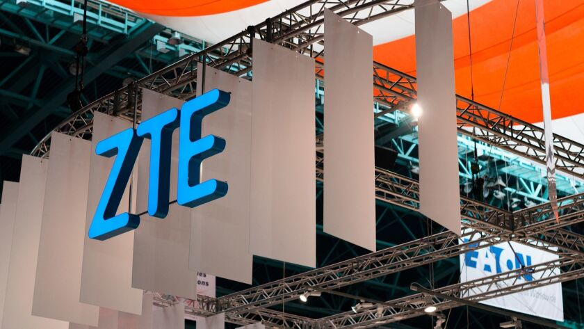 US reviews deal to allow China's ZTE to get back into business