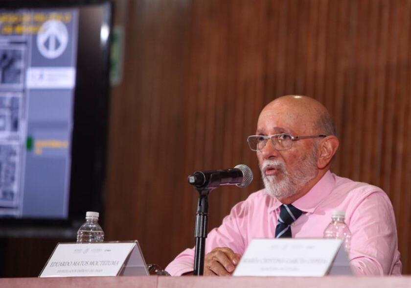 El antropólogo Eduardo Matos. EFE/Archivo