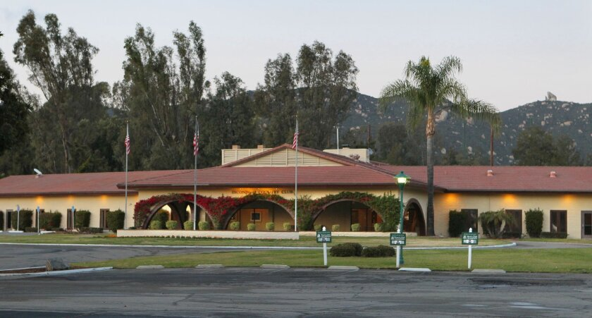 The Escondido Country Club closed in 2013. It looks much different today.