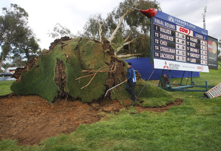 A photo from last February's Farmers Insurance Open at Torrey Pines