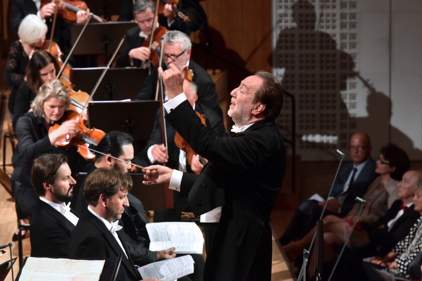Italian conductor Riccardo Chailly opens the Lucerne Festival with the Lucerne Festival Orchestra performing Mahler's Eighth Symphony.