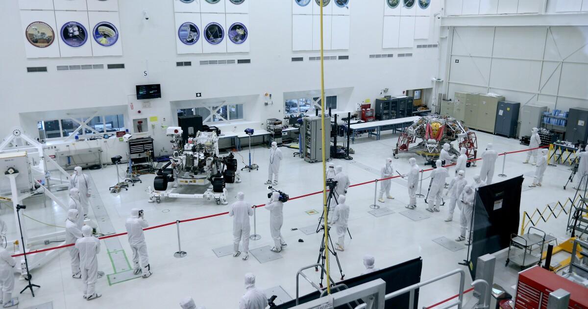 記者から世界に見えマースでは2020年までのミンドローバーでのジェット推進研究所