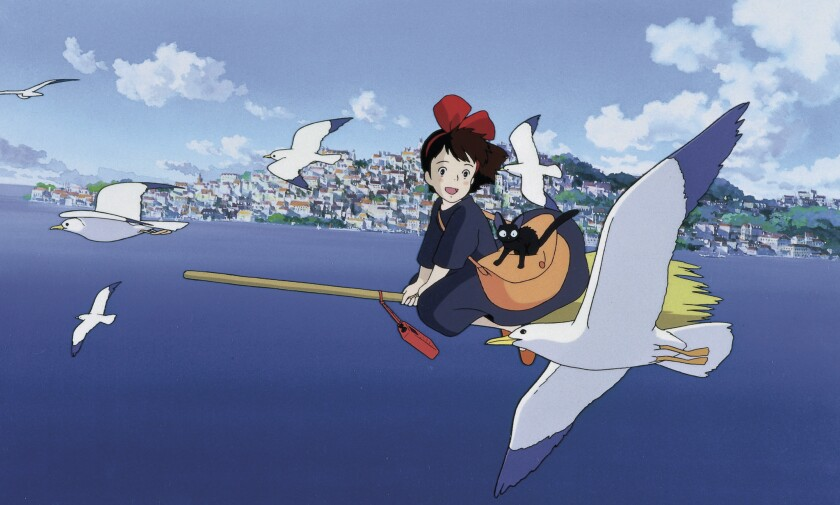 """Kiki's Delivery Service"" is among the most kid-friendly Ghibli titles."
