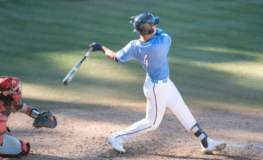 USD graduate senior Thomas Luevano leads the Toreros offense with nine home runs and 53 RBIs.