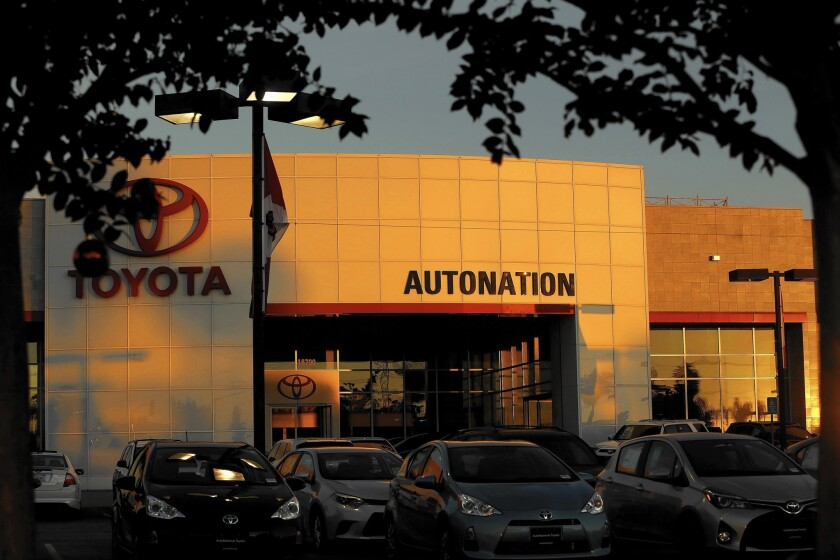 AutoNation is shifting to an online storefront with no