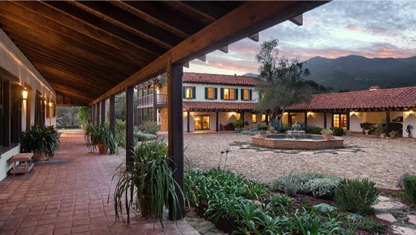 Sean Rad's Montecito ranch