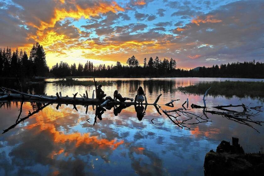 Lassen Volcanic National Park in California