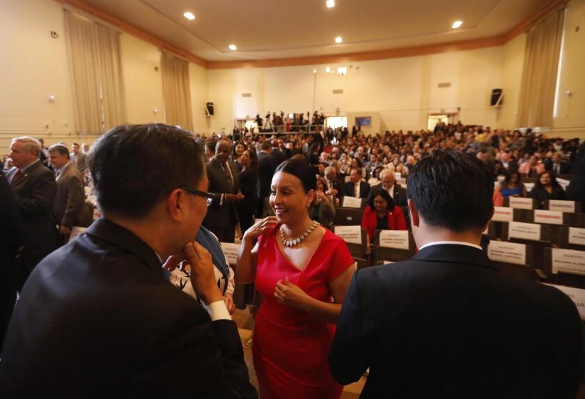 Los Angeles City Councilwoman Nuri Martinez