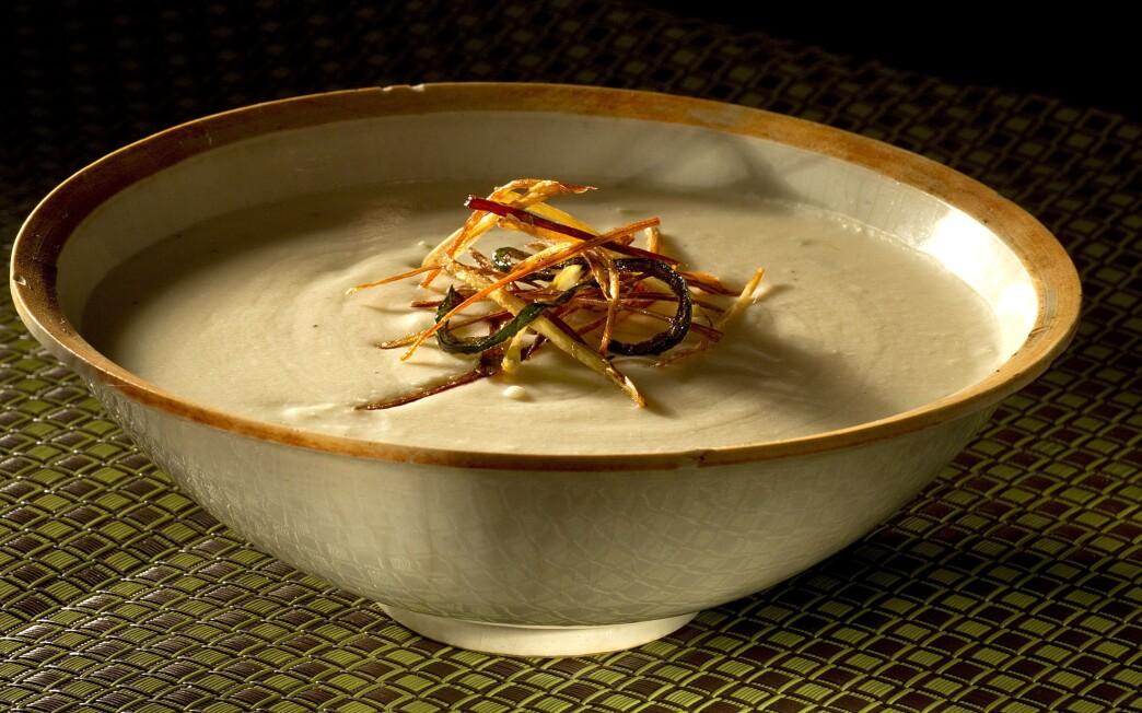 La Casa Sena's potato green chile soup