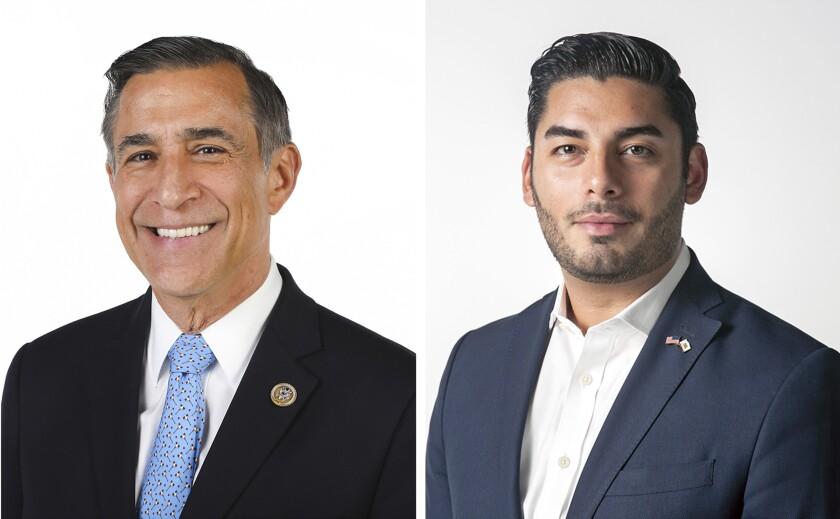 Darrell Issa y Ammar Campa-Najjar son candidatos en el 50º distrito del congreso de California.