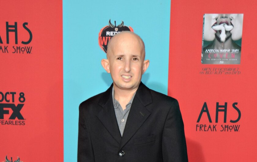 """Ben Woolf, shown at the Oct. 5 premiere of """"American Horror Story: Freak Show,"""" died Monday."""