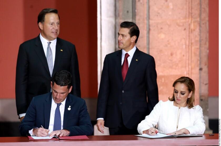 Los Gobiernos de México y Panamá· suscribieron un acuerdo para proteger los derechos humanos de los migrantes.