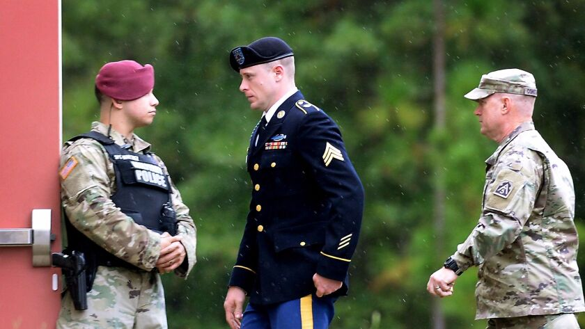Bowe Bergdahl To Enter Guilty Plea To Desertion Charge