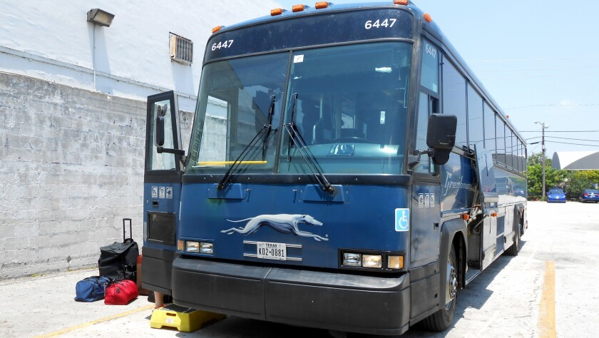 Faster, cheaper, free Wi-Fi, no TSA: How a Greyhound bus