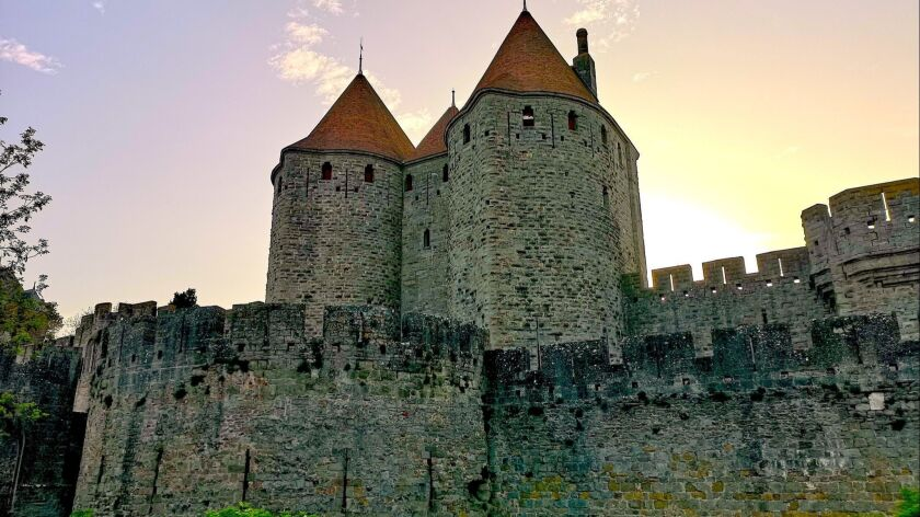 The famous fortress in Carcassonne, France, considered a Cathar stronghold at one time.