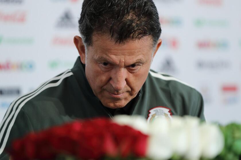 El seleccionador de México, el colombiano Juan Carlos Osorio.
