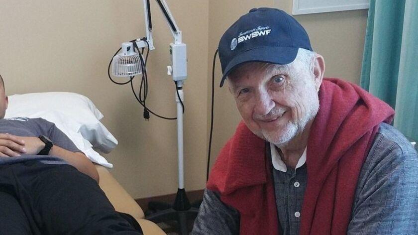 Dr. Charles Camarata has treated high school sports injuries for decades.