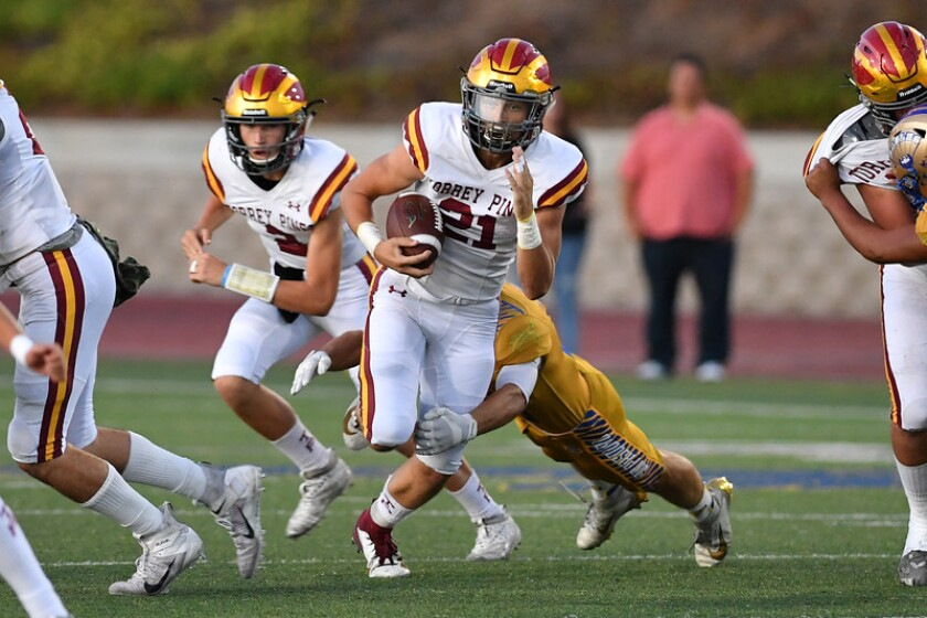 Torrey Pines scored an impressive win over San Pasqual 24-14 in a nonleague game on Sept. 13.