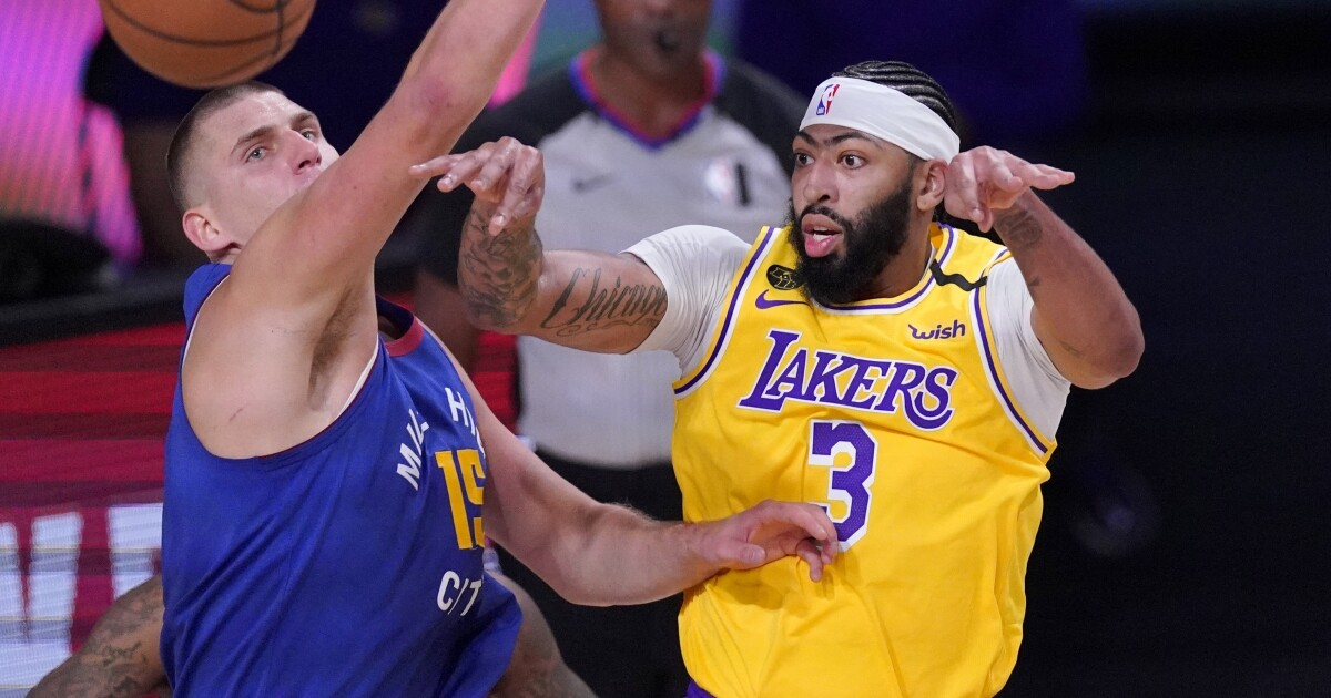 Anthony Davis and LeBron James power Lakers' Game 1 win over Nuggets