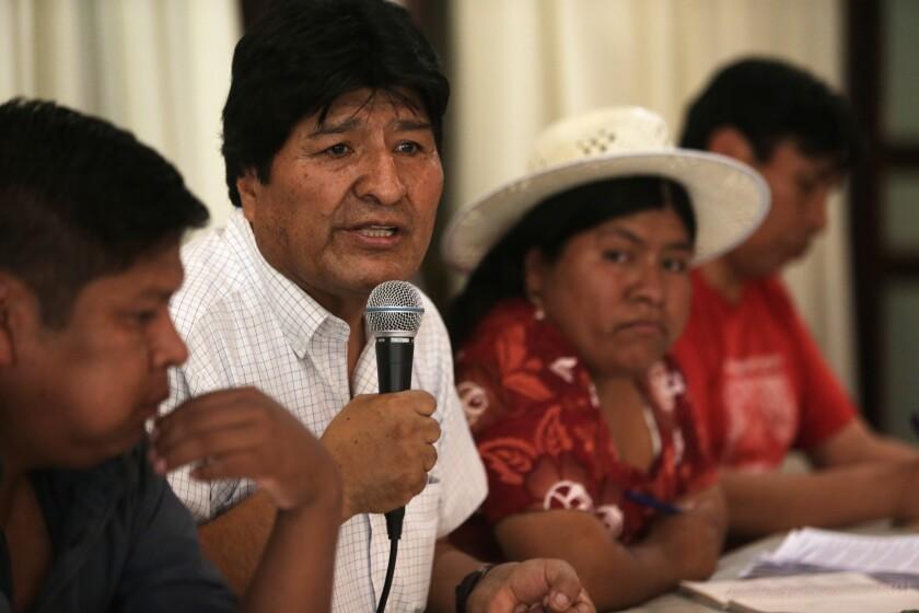 Argentina Bolivia Presidential Candidates