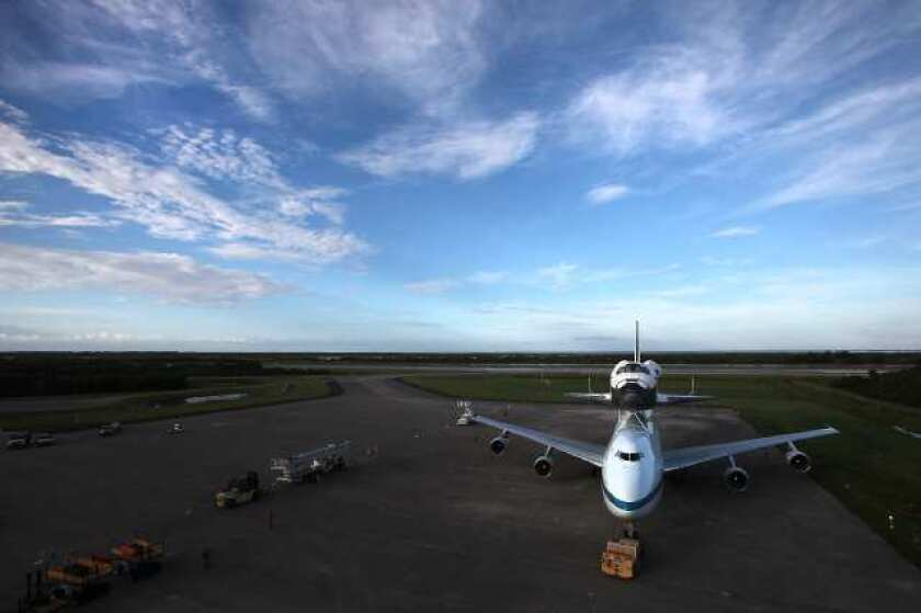 Shuttle Endeavour: Griffith Observatory, JPL on tap for L.A. flyover