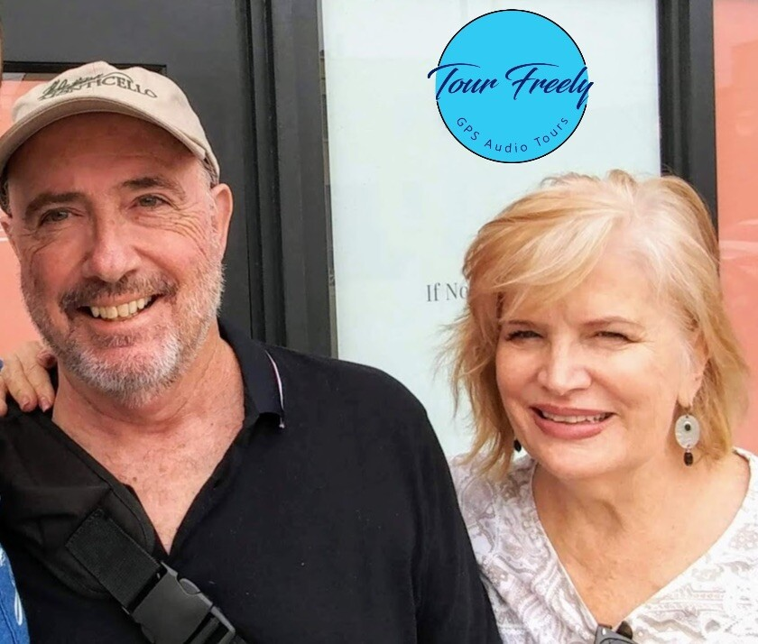 Jerry and Mindy Flanagan created Tour Freely and its La Jolla audio tour.