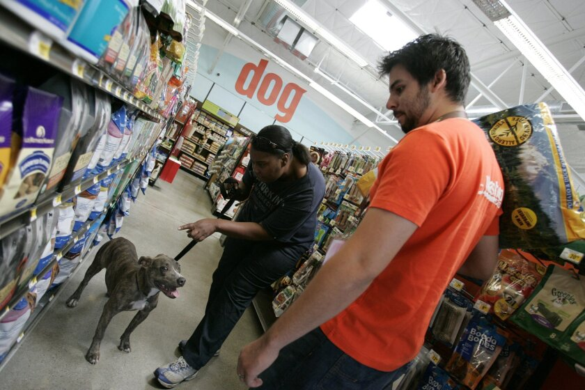 San Diego pet retailer Petco has about 1,300 stores in the United States, Puerto Rico and Mexico.