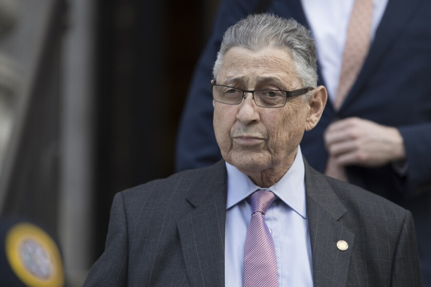 Former New York Assembly Speaker Sheldon Silver was convicted on charges of collecting nearly $4 million in illegal payoffs in return for his efforts on behalf of two real estate developers and a Columbia University cancer researcher.