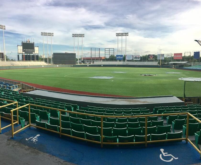 Vista general del estadio Hiram Bithorn de San Juan, Puerto Rico. EFE/Archivo
