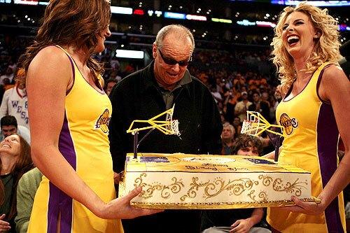 Jack Nicholson, Lakers