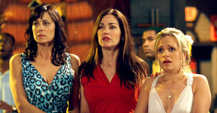 Catherine Bell, Kim Delaney and Sally Pressman
