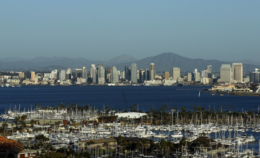 San Diego hotel guests pay a 2 percent surcharge on their room bills to finance tourism marketing.