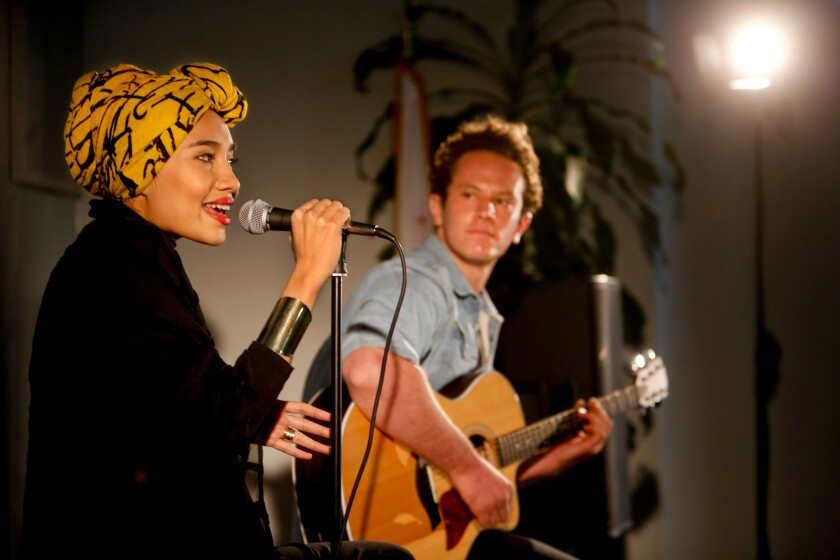Malaysian artist Yuna, left, is among the Make Music Pasadena headliners.