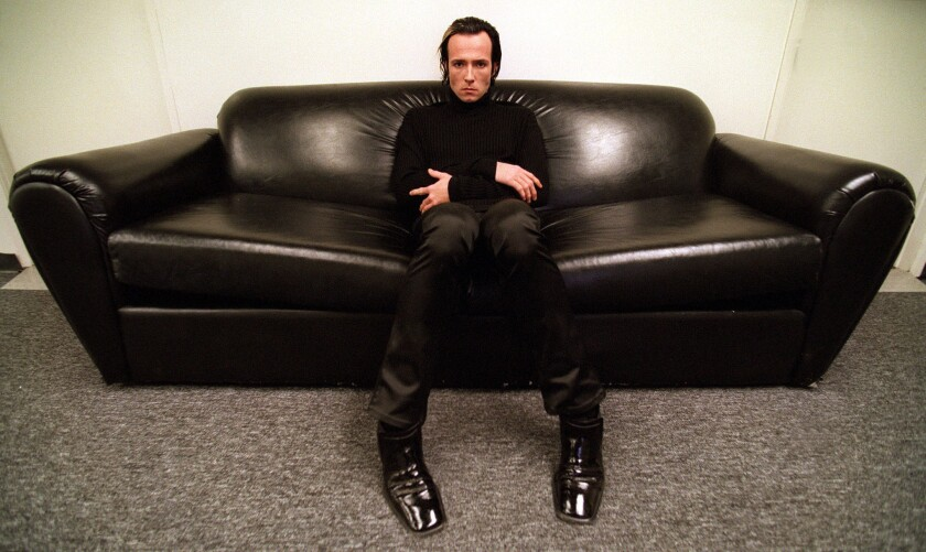 Scott Weiland, lead singer of the Stone Temple Pilots