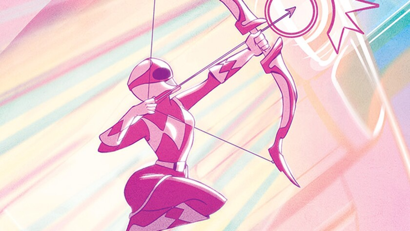 A new comic book series about the Pink Power Ranger is on the way.