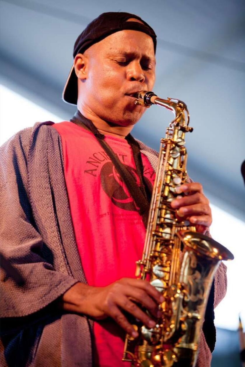 Steve Coleman performs during the 2011 Newport Jazz Festival on Aug. 7, 2011, in Newport, R.I.